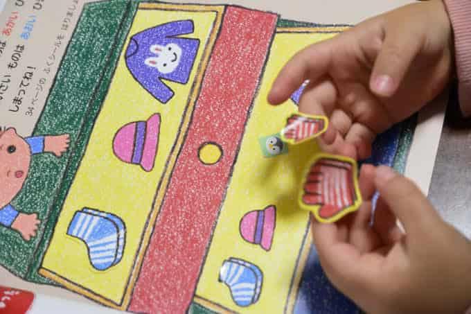 幼児ポピーの1番の効果は想像力がついたこと!
