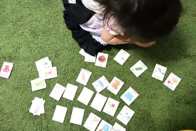 ポピっこきいどり(3歳~4歳向け)学習の様子