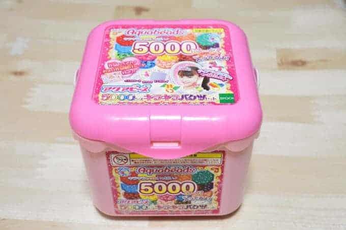 5000ビーズキラキラバケツセット