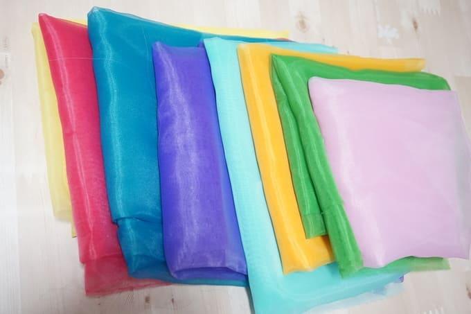 リトミックスカーフの材料