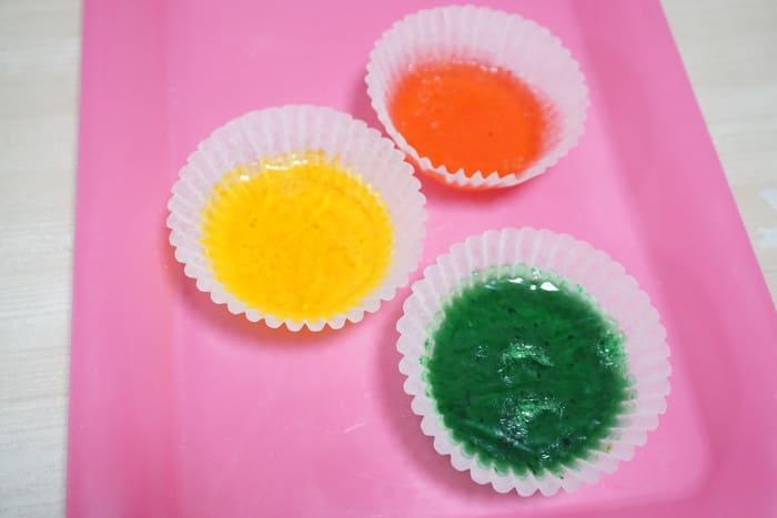 色付き石鹸