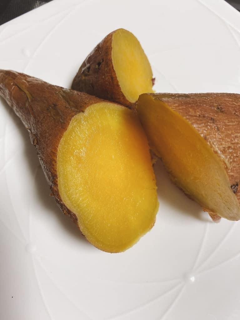 ココノミで届いたほくほくの安納芋