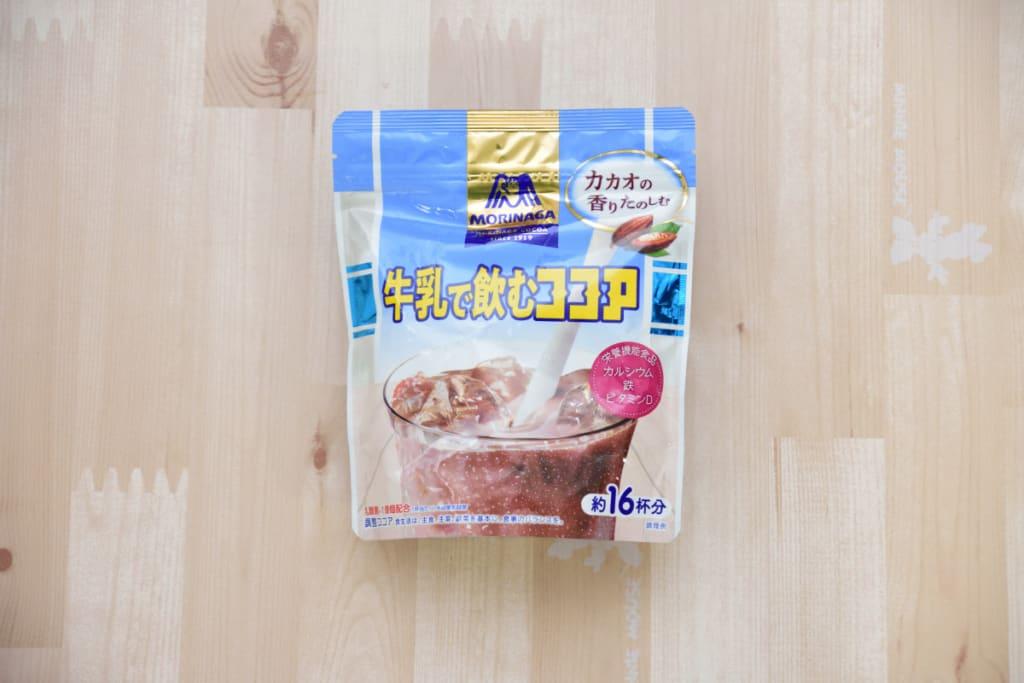 森永製菓|牛乳で飲むココア