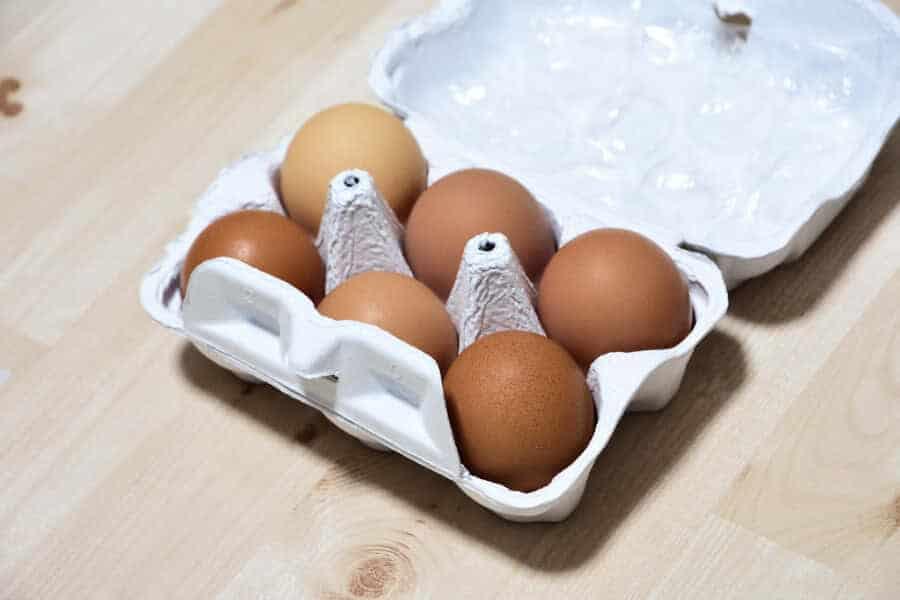 奥出雲木次平飼い卵