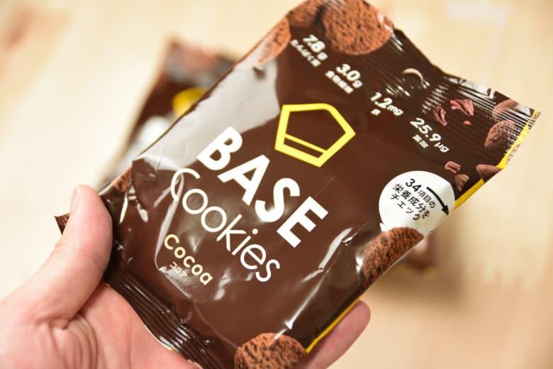 ベースクッキーココア味